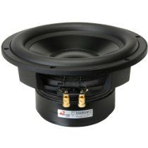 """Dayton Audio RSS265HF-4 10"""" Reference HF Subwoofer 4 Ohm. The Dayton Audio Reference Series subwoofers take the quality and performance of the much acclaimed RS line into the subwoofer realm. The black anodized cone, rubber surround, and custom basket give this driver a unique, high-end look."""