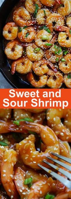 Sweet and Sour Shrimp with plump and juicy shrimp in mouthwatering sweet and sour sauce, ready in 20 minutes | rasamalaysia.com