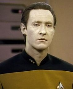 """Perhaps I should turn off my emotion chip?"" No you shouldn't Mr. DATA!!! You make us all cry and swoon with your cyberneticly empathic emotions. Hooray biorobotics!"