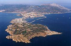 Ceuta - Vista aerea