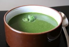 The Healthy Happy Wife: Spinach Basil Soup -Vegan (Dairy and Gluten Free)