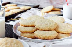 Sugar Cookies | King Arthur Flour: Buttery, sweet, crisp on the edges and chewy in the middle, vanilla scented cookie.