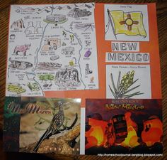 Postcard Geography: New Mexico