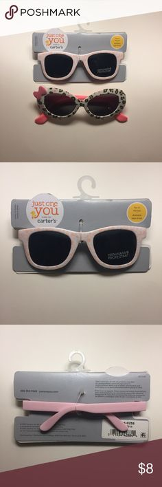 Baby Girl Sunglasses 😎 Adorable baby Sunglasses! Both are new, one being with out tags/packaging. This listing is for both Sunglasses. Carter's Accessories Sunglasses