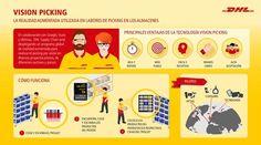 DHL implanta soluciones de realidad aumentada en sus almacenes.