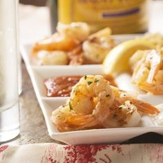 Garlicky Roasted Shrimp