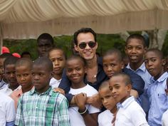 """Legendary artist and philanthropist Marc Anthony. Check him out here, generously donating a beautiful orphanage to the Dominican Republic. From his clothing line to his award-winning music, this gentleman continues to set a positive example. """"Like"""" to show your support for everyone involved. http://xfin.tv/TlOc5z — with Cinthia Santana and Susy Alonso."""