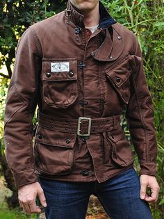 We'd like to introduce you to Mister Freedom. The brainchild of a Frenchman living in Los Angeles by the name of Christophe Loiron, Mister Freedom is the. Motorcycle Style, Motorcycle Jacket, Leather Men, Leather Jacket, Retro Fashion, Mens Fashion, Barbour Jacket, Jacket Men, Military Jacket