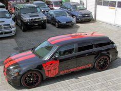 Dodge Magnum SRT8 6.1 Hemi 432PS Transformer 2006, die Scheiben sind ab der B-Säule dunkel getönt
