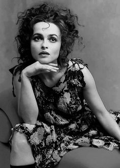 There is no denying that actress Helena Bonham Carter is a uniquely beautiful lady. Helena Bonham Carter, Helen Bonham, Helena Carter, Tim Burton, Bellatrix Lestrange, British Actresses, Actors & Actresses, Pretty People, Beautiful People
