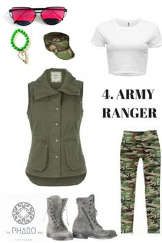 Diy halloween costumes army girl holiday inspirations 5 diy halloween costumes solutioingenieria Image collections