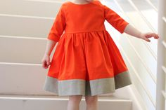 Sewing For Kids Spring Dresses of - Sewing For Kids, Baby Sewing, Little Girl Dresses, Girls Dresses, Baby Dresses, Dress Girl, Geranium Dress, Vestidos Vintage, Cute Outfits For Kids