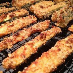 Gluten-free baked zucchini fries. #glutenfree #glutenfreefood #health #fitness #zullohealthandfitness