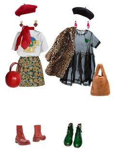 """""""opposites"""" by hardtoluv on Polyvore featuring Motel, Kenzo, Goorin, Chanel, TC Fine Intimates, Peter Jensen and Dr. Martens"""