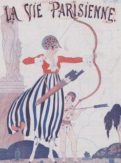 [Collection Jaquet]. Dessinateurs et humoristes. George Barbier : [défets d'illustrations de périodiques] | Gallica
