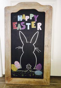 Easter chalkboard art …