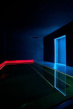 """House of Light"" Bath Room (1997), by James Turrell / Kawanishi Niigata, Japan / Architectural Light, Skyspaces"