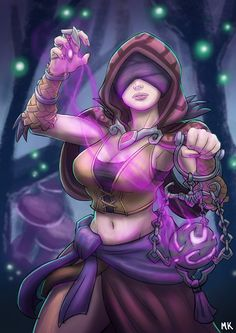 Seris, Oracle of the Abyss by M-Katar