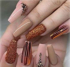 sparkling;Pointed;matte;acrylic;long;glitter;jewels