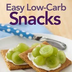 If your next meal seems hours away, choose one of these diabetic snacks to ease those hunger pains. A cinch to put together, each snack idea has 15-20 grams of carb per serving.