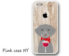 iPhone 6/ 6S/ 6plus/ 6S plus, iPhone 5/ 5S/ 5C, iPhone 4/ 4S, iPhone SE - I love Wine - Weimaraner by PinkCaseNY on Etsy https://www.etsy.com/listing/278170862/iphone-6-6s-6plus-6s-plus-iphone-5-5s-5c