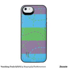 Vanishing Trails B/P/G Uncommon Power Gallery™ iPhone 5 Battery Case