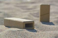 Sand made - l'emballage de sable par le studio de design Alien & Monkey