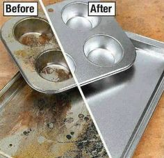 1000 ideas about cleaning burnt pans on pinterest clean burnt pots cleaning and cleaning pans - Clean burnt grease oven pots pans ...