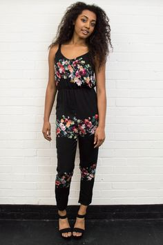 Our Gia Floral Print Jumpsuit is a statement piece thats perfect for summer! Get yours now by visiting our website - www.girlinmind.com/clothing/jumpsuits-and-playsuits/gia