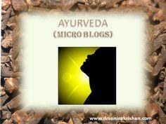 #Ayurveda Support For De-Addiction NEW #MicroBlog http://drsonicakrishan.blogspot.in/2016/04/ayurveda-support-for-de-addiction.html