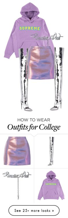"""Untitled #3451"" by ma-rae on Polyvore featuring Yves Saint Laurent and Balenciaga"