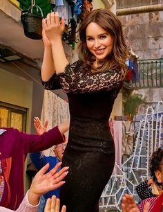 Emilia Clarke for Dolce&Gabbana The One