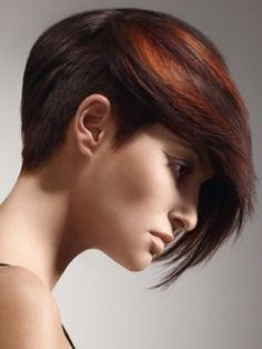 Perfect blend with brown hair