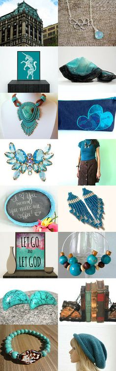 ~ 10% Off All Featured Shops ~ Teal We Meet Again by Judi Francy on Etsy--Pinned with TreasuryPin.com