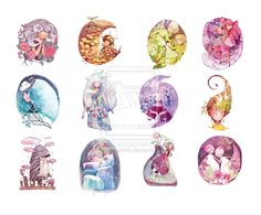 Horoscope by nguyenshishi on DeviantArt Zodiac Art, Astrology Zodiac, Astrology Signs, Scorpio Moon, Libra, Aquarius, Taurus Art, Zodiac Killer, Zodiac Personalities