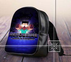 Herobrine Lenda De Amazing Famous Game - Game Design For Kids School Bag Backpack