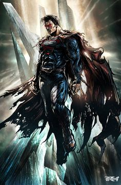 Dark Superman. Hate Superman, but this is just amazing... *I love superman!! -rs