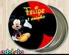 Latinhas Personalizadas Festa do Mickey