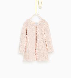 Bouclé knit cardigan - Available in more colours
