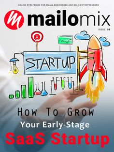 Mailomix Newsletter - How To Grow Your Early-Stage SaaS Startup Weekly Newsletter, Online Business, Entrepreneur, Cover, Slipcovers