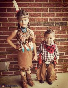 Halloween costume ideas sibling fun pinterest halloween cowboys and indians costume solutioingenieria Gallery