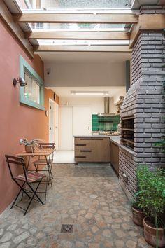 Open House Bruna Lucchesi | Casa de Valentina Pergola Patio, Backyard, Outdoor Living, Outdoor Decor, Conservatory, Home Renovation, Open House, House Tours, Balcony