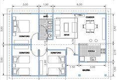 Cabaña 53,40 m2