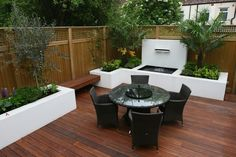 Small garden can also be very nice