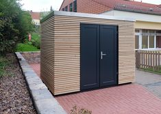 Modern Style - Schwoerer Gartenhaus Modern, Garage Doors, Outdoor Decor, Home Decor, Style, Garden Sheds, Homemade Home Decor, Decoration Home, Interior Decorating