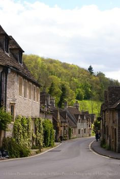 Castle Combe Is A Small Village In Wiltshire, England, With A Population Of About 350.