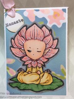 Mischievous Little Lotus Sprite from Aurora Wings