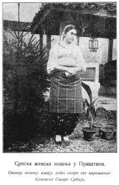 Serbian woman from Pristina