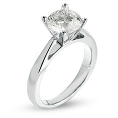omg, yes please! // 2 CT. Solitaire Engagement Ring