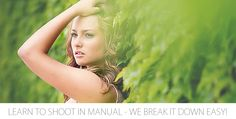 The easiest way possible to learn how to shoot in manual.  Broken down very simply.  You will be shooting manual very quickly after you read this!